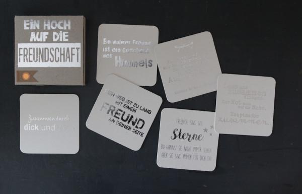 """Kartenbox """"Ein Hoch auf die Freundschaft"""" 2"""