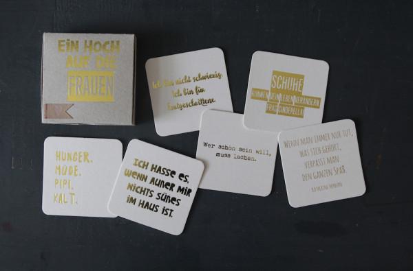 """Kartenbox """"Ein Hoch auf die Frauen"""" 2"""