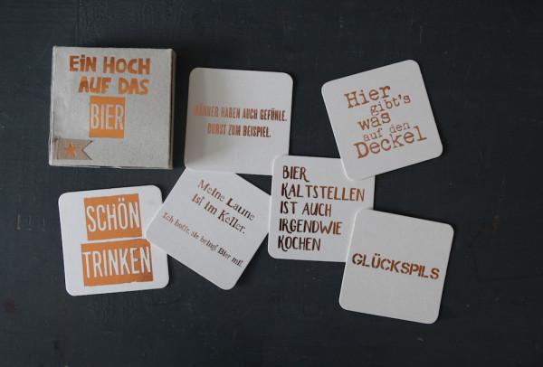 """Kartenbox """"Ein Hoch auf das Bier"""" 2"""