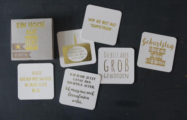 """Kartenbox """"Ein Hoch auf Dich"""" / Zum Geburtstag 2"""