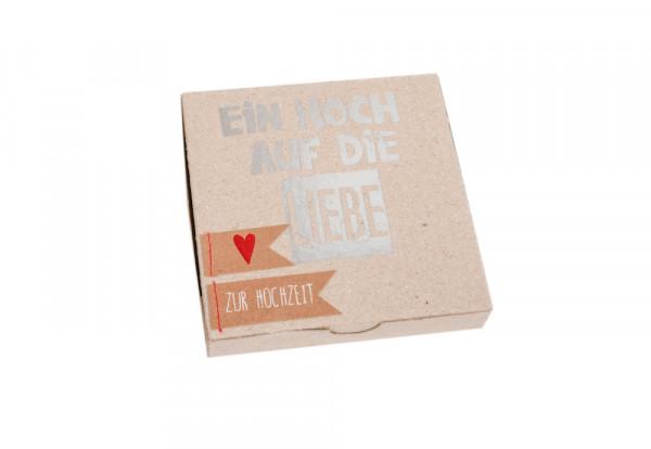 """Kartenbox """"Ein Hoch auf die Liebe"""" / Zur Hochzeit 1"""