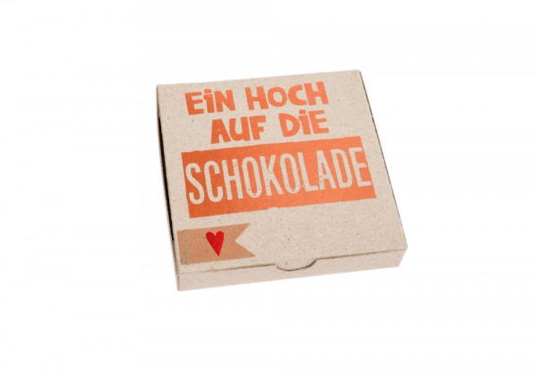 """Kartenbox """"Ein Hoch auf die Schokolade"""" 1"""