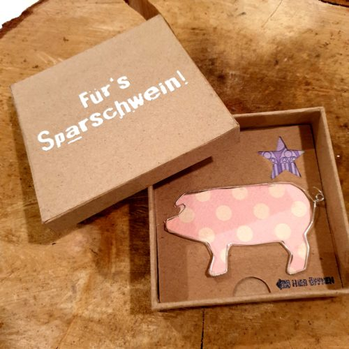 """Geldgeschenkbox """"Für`s Sparschwein"""" 4"""