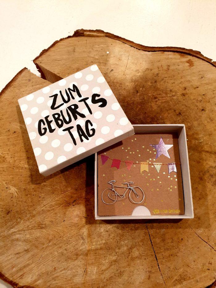 """Geldgeschenkbox """"Zum Geburtstag"""" 1"""