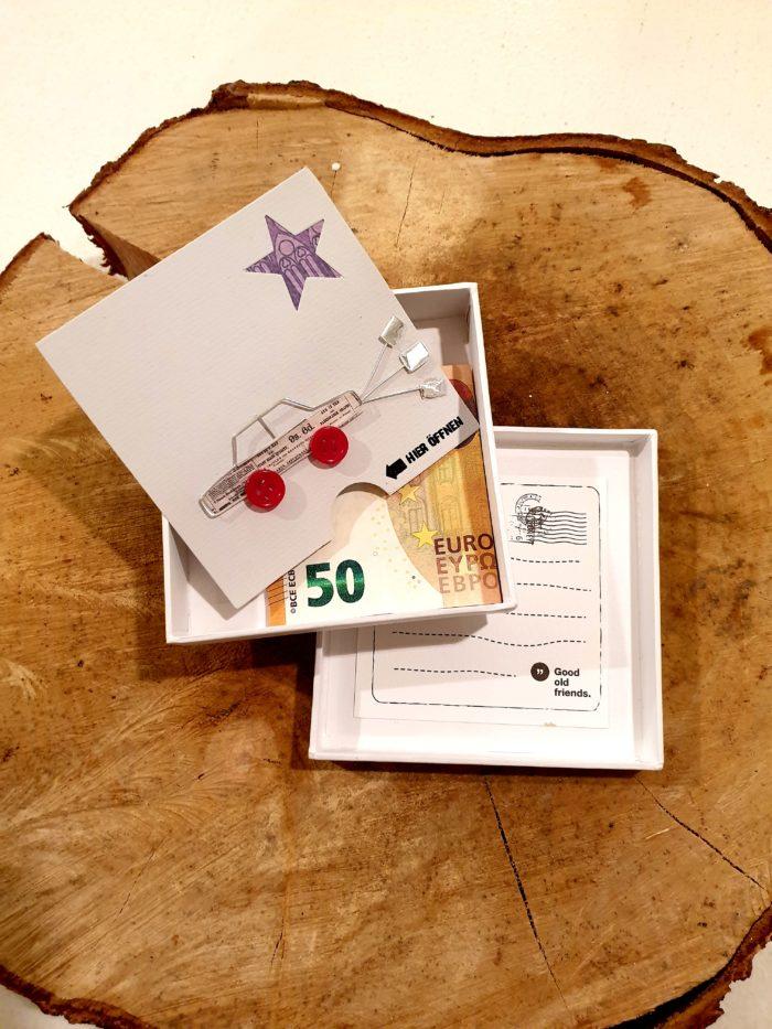 """Geldgeschenkbox """"Zur Hochzeit"""" 2"""