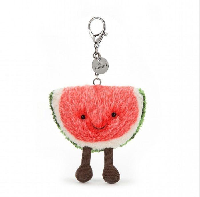Jellycat Taschen-/Schlüsselanhänger Watermelon 1