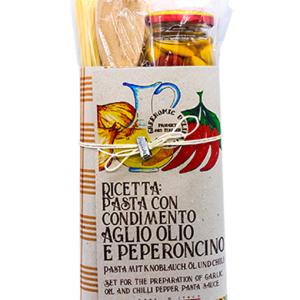 Pasta Kit AGLIO, OLIO E PEPERONCINO 9