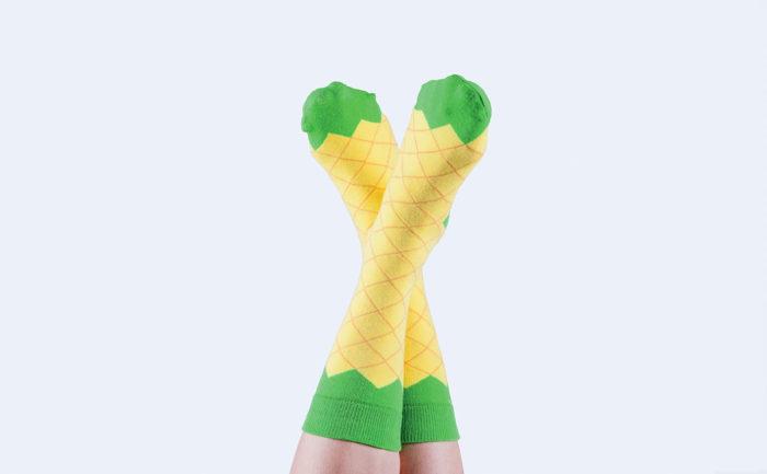 Icepop Socks Pineapple 2