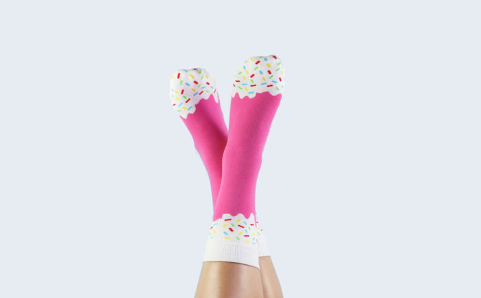 Icepop Socks Strawberry 2