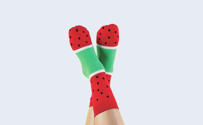 Icepop Socks Watermelon 2