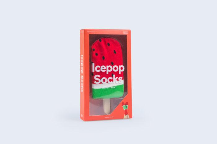 Icepop Socks Watermelon 1