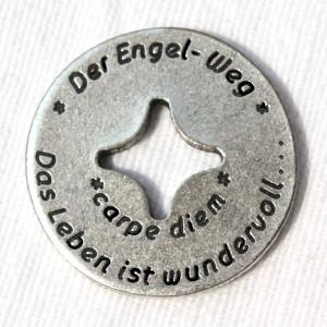 """Engelweg-Münze """"carpe diem / Das Leben ist wundervoll..."""" 2"""