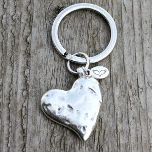 Schlüsselanhänger Herz 6