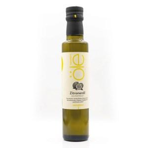 Kaltgepresstes Zitronen Olivenöl 4