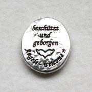 """Engel-Münze """"beschützt und geborgen"""" 2"""