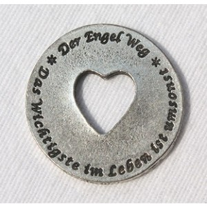 """Engelweg-Münze """"Das wichtigste im Leben ist umsonst"""" 12"""