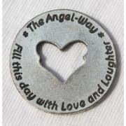 """Engelweg-Münze """"Heute - ein Tag voll Liebe und Lachen"""" 2"""