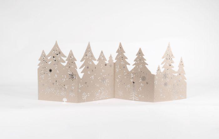 "Winter Silhouette ""Bäume"" 1"