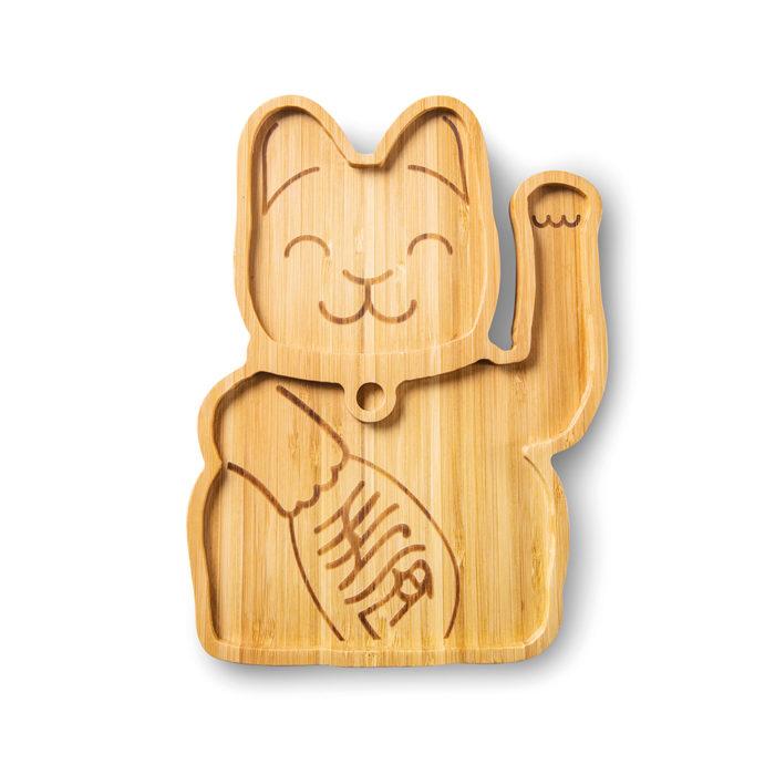 """Bambusteller """"Lucky Cat"""" 1"""