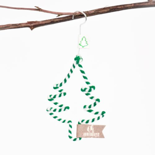 "Mini Winter Wollornament ""Oh Tannenbaum"" 5"
