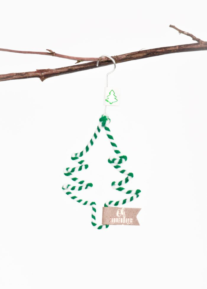 "Mini Winter Wollornament ""Oh Tannenbaum"" 1"