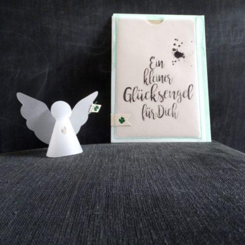 """Engel in der Tüte """"Glücksengel"""" 7"""