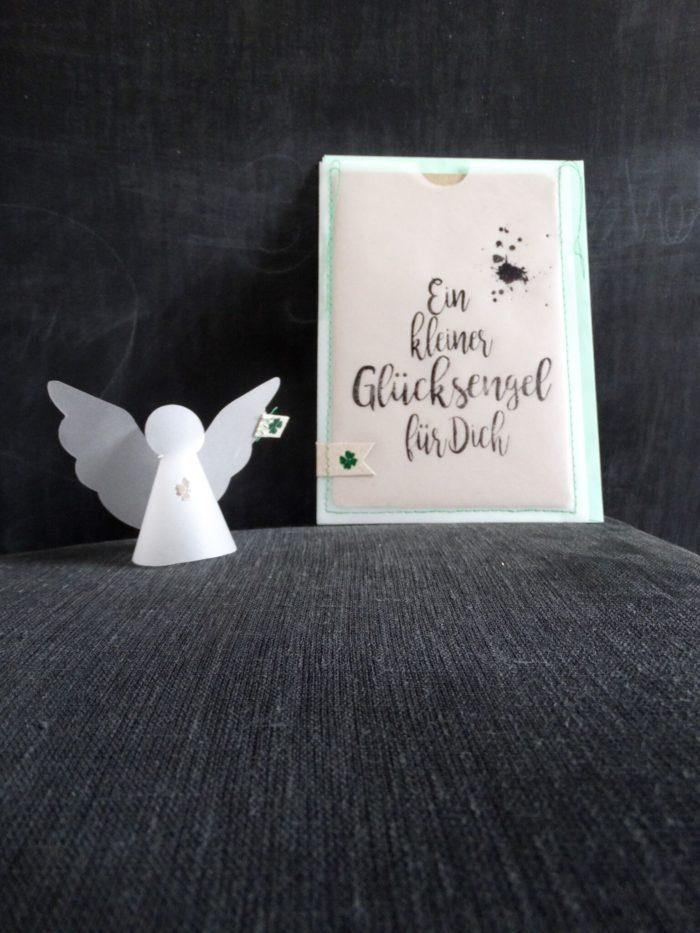 """Engel in der Tüte """"Glücksengel"""" 1"""