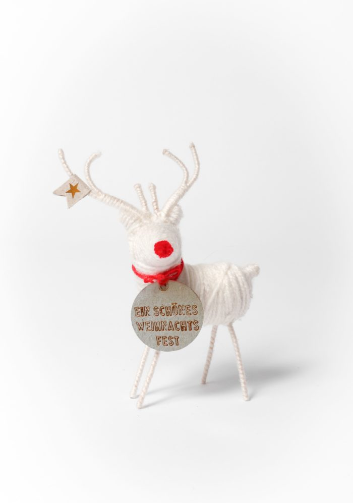 """Rentier """"Ein schönes Weihnachtsfest"""" 2"""