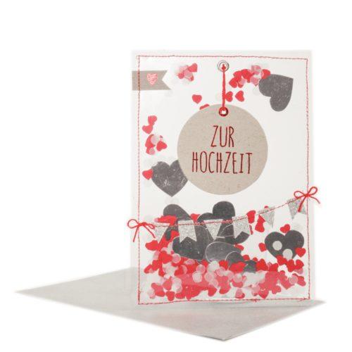 """Party Karte """"Zur Hochzeit"""" 1"""