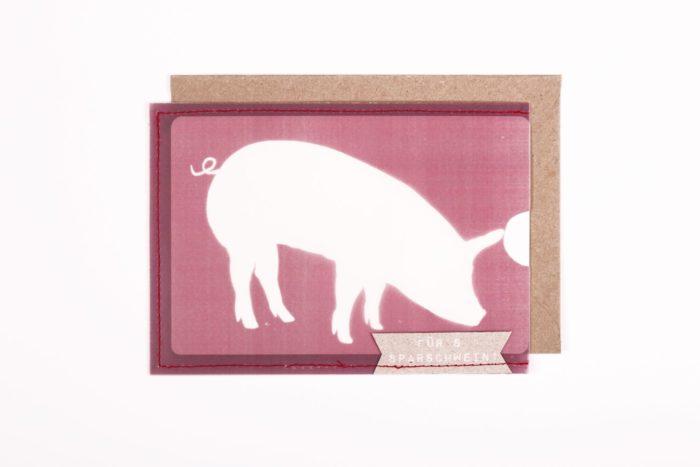 Scheinchen Schweinchen Karte 1
