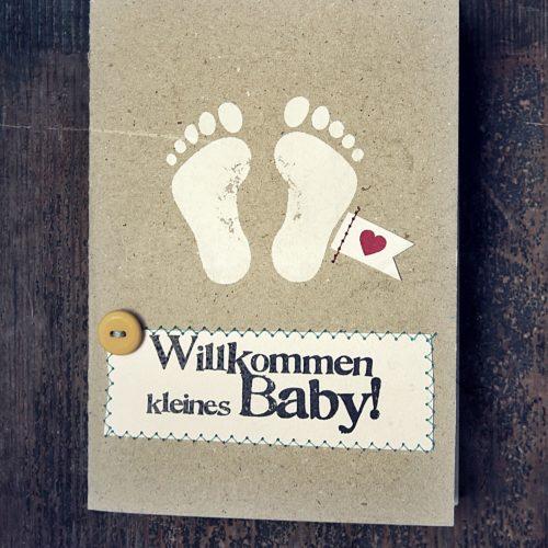 Kleines Glück. Baby Karten 2