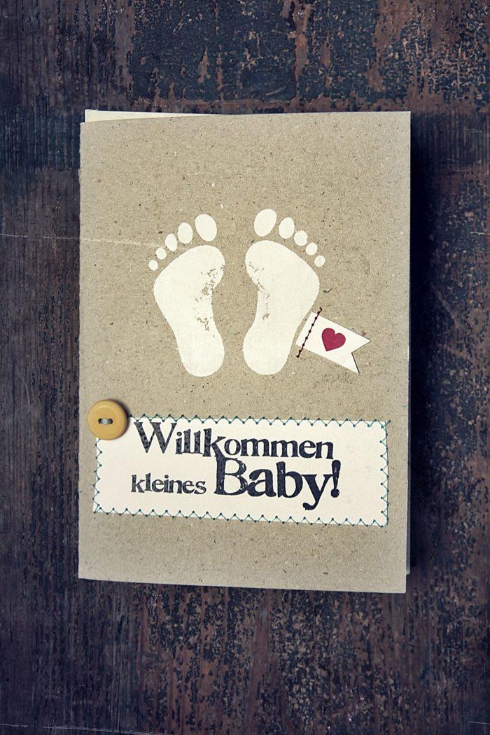 Kleines Glück. Baby Karten 1