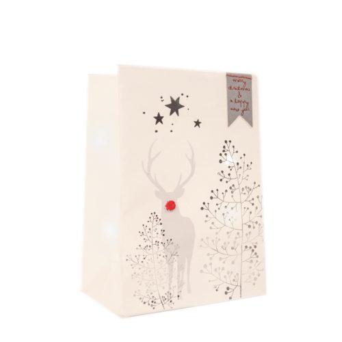 """Winter Schattenlicht Tüte """"Merry Christmas..."""" 10"""