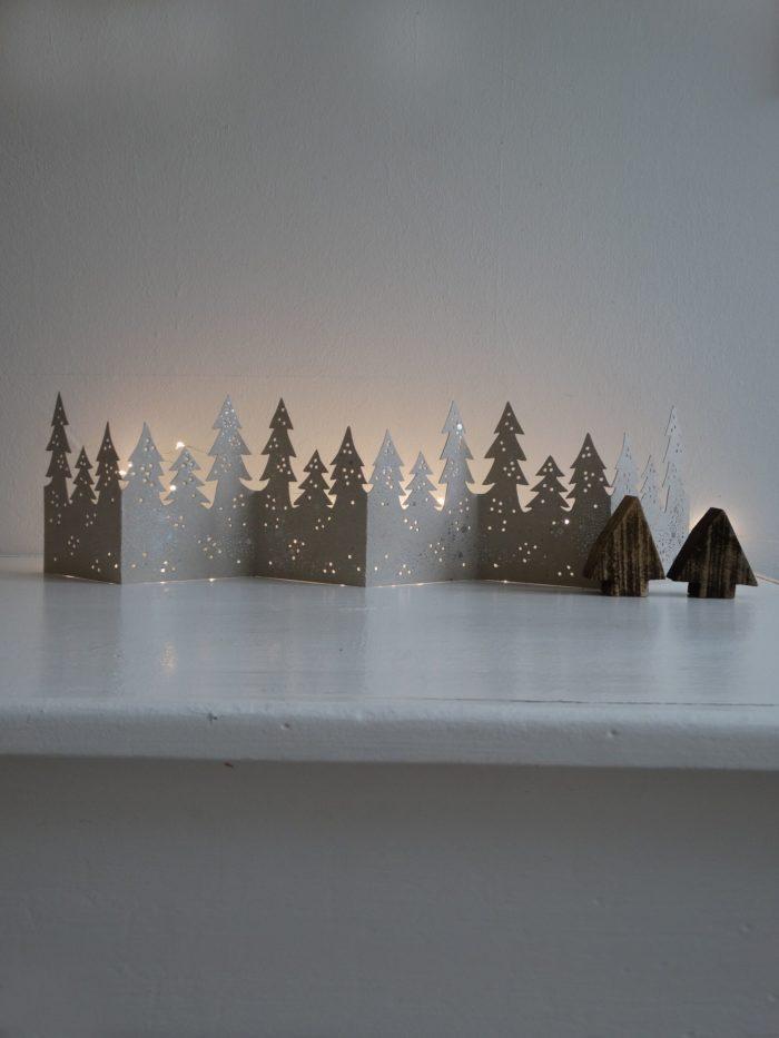 "Winter Tischgirlande ""Wald"" 2"