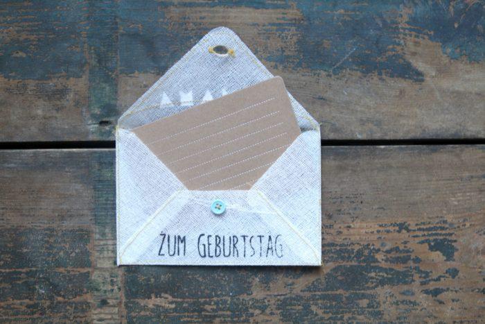 """Grußumschlag """"Zum Geburtstag"""" 2"""