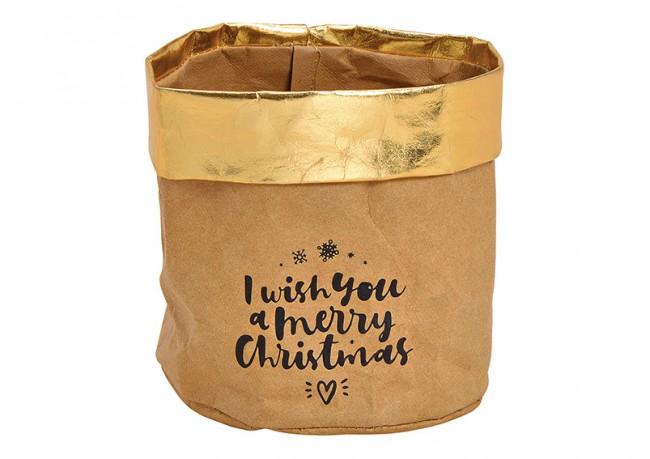 Papiersack Christmas 1