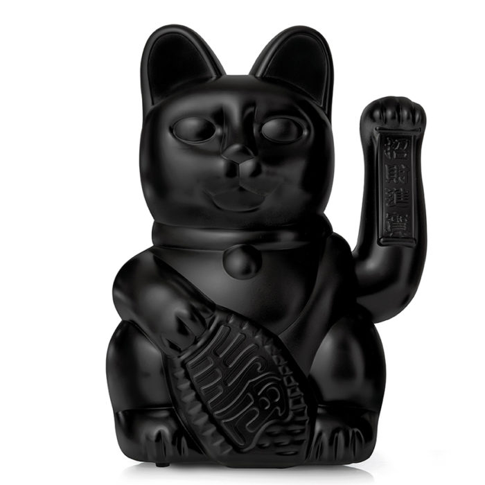 Lucky Cat GIANT Black 1