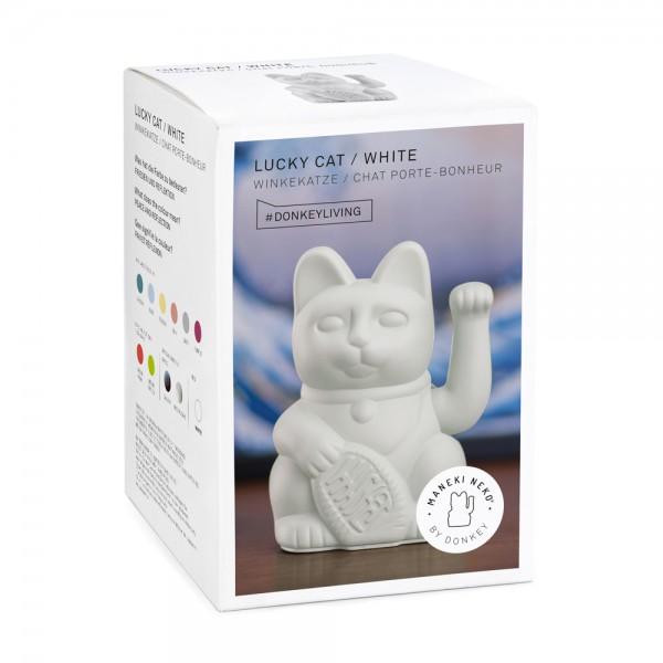 Lucky Cat White 2