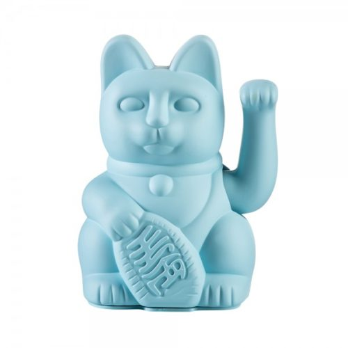 "Lucky Cat ""BLUE"" 4"
