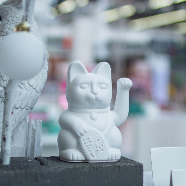Lucky Cat White 3