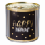 Cancake Happy Birthday gold dots Brownie black&white Edition 1
