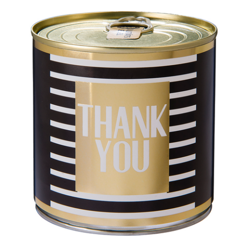 Cancake THANK YOU gold Zitronenkuchen black&white Edition 8