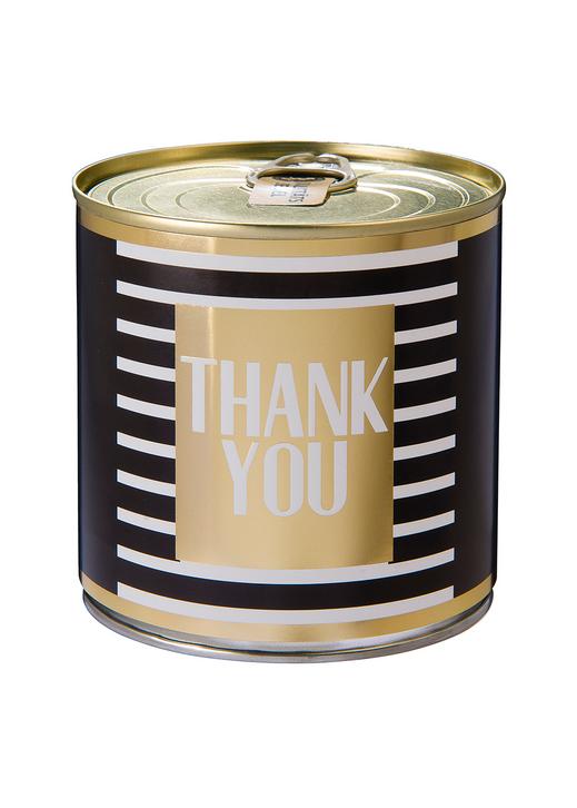 Cancake THANK YOU gold Zitronenkuchen black&white Edition 1